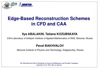 Edge-Based Reconstruction Schemes in CFD and CAA