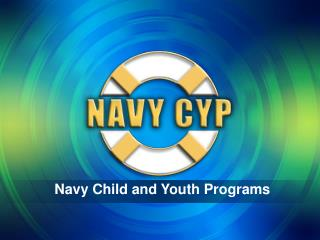 Navy Child and Youth Programs