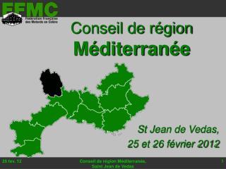 Conseil de région Méditerranée