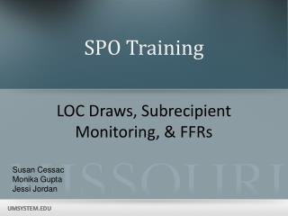 SPO Training