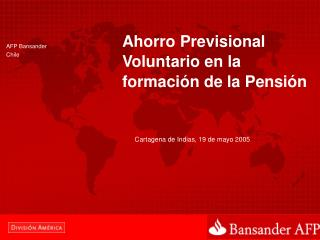 AFP Bansander Chile