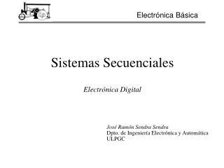 Sistemas Secuenciales Electr�nica Digital