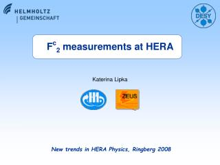 New trends in HERA Physics, Ringberg 2008