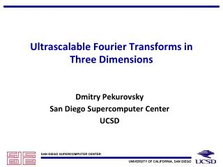 Ultrascalable Fourier Transforms in Three Dimensions