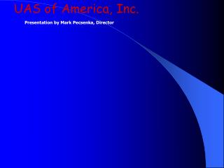 UAS of America, Inc.