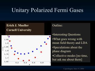 Unitary Polarized Fermi Gases