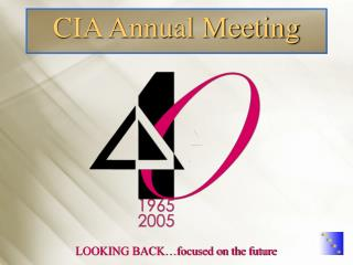 CIA Annual Meeting