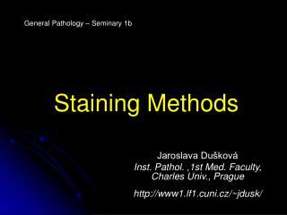 Staining Methods