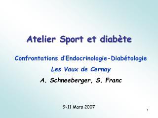 Atelier Sport et diab�te