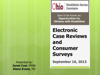 Electronic Case Reviews and Consumer Surveys