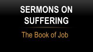 sermons on suffering