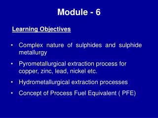 Module - 6