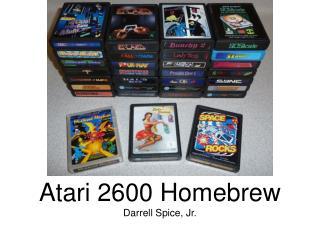 Atari 2600 Homebrew