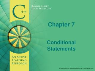 Chapter 7 Conditional Statements