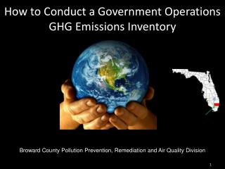 How to Conduct a Government Operations GHG Emissions Inventory