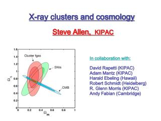 X-ray clusters and cosmology