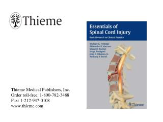 book cover essentials of spinal cord injury