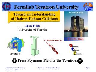 Fermilab Tevatron University