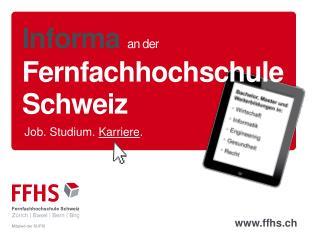 Informa an der Fernfachhochschule Schweiz