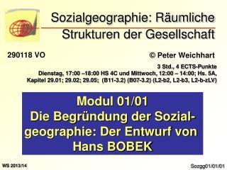 Sozialgeographie: R umliche Strukturen der Gesellschaft