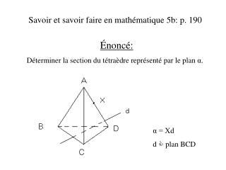Savoir et savoir faire en math�matique 5b: p. 190