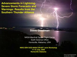 Advancements in Lightning-Severe Storm Forecasts and Warnings: Results from the Southern Thunder Alliance