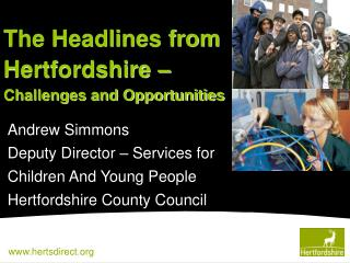 Andrew Simmons Deputy Director – Services for  Children And Young People