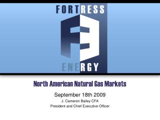 North American Natural Gas Markets