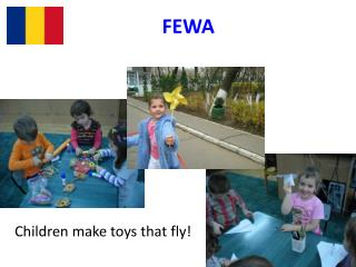 Children make toys that fly!