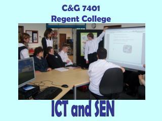 C&G 7401 Regent College