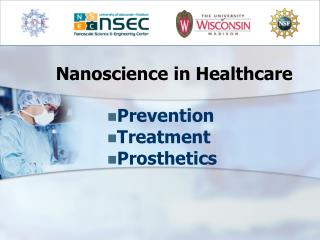 Nanoscience in Healthcare