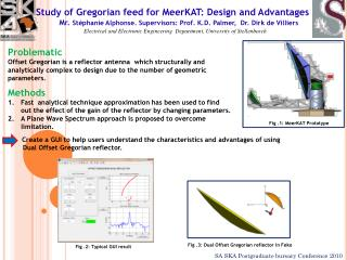 Study of Gregorian feed for MeerKAT: Design and Advantages