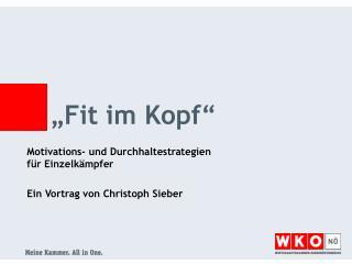 """""""Fit im Kopf"""""""