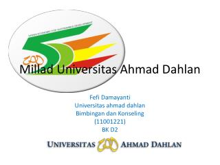 Millad Universitas Ahmad Dahlan