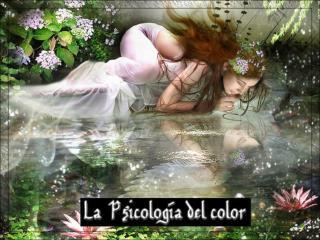La Psicología del color. Las personas que trabajan con los colores (los artistas, los terapeutas,