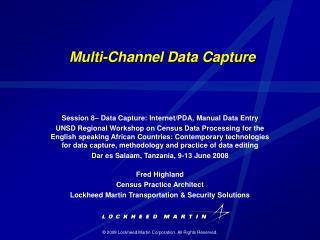 Multi-Channel Data Capture