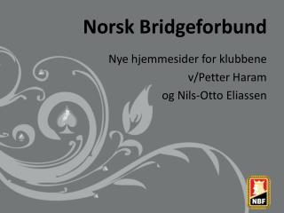Norsk Bridgeforbund