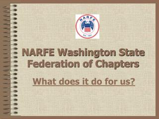 NARFE Washington State Federation of Chapters