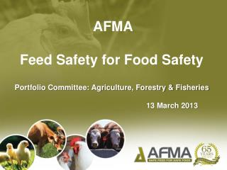 AFMA Feed Safety for Food Safety