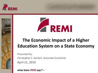 The Economic Impact of a Higher Education System on a State Economy
