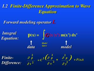 I.2   Finite-Difference Approximation to Wave Equation