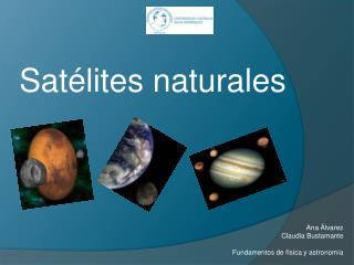 Satélites naturales
