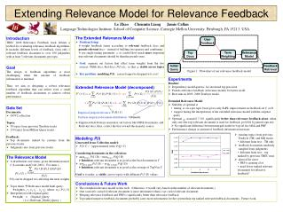 Extending Relevance Model for Relevance Feedback