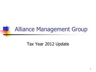 Alliance Management Group