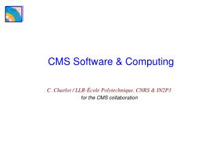 CMS Software & Computing