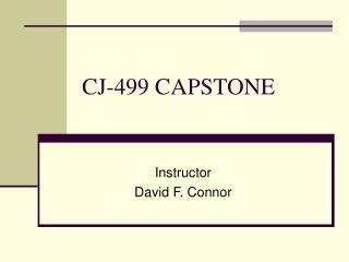 CJ-499 CAPSTONE
