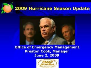 2009 Hurricane Season Update