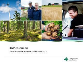 CAP-reformen