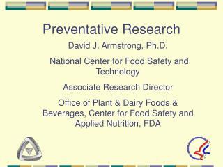 Preventative Research