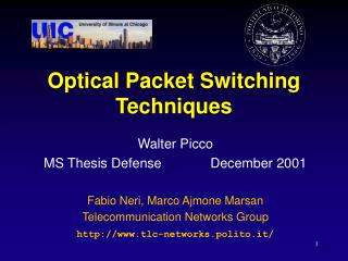 Optical Packet Switching Techniques